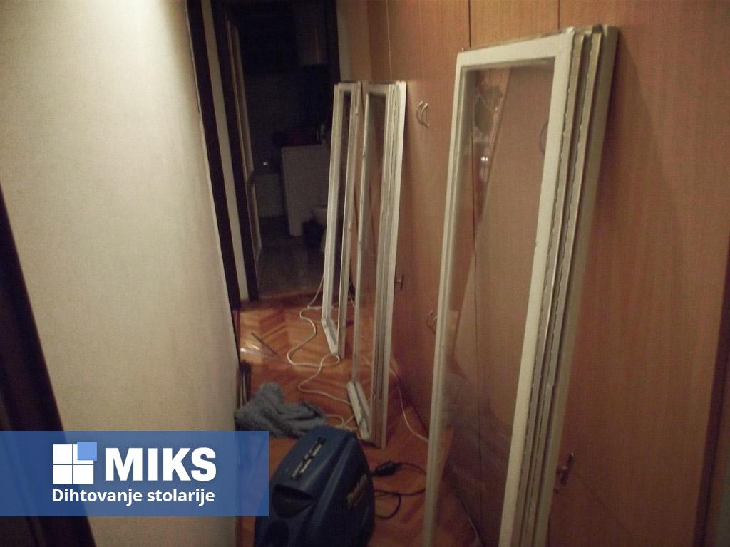 Dihtovanje prozora - dihtovanje stolarije